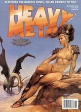 Heavy Metal #201: 2002 November