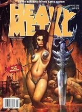 Heavy Metal #208: 2004 January
