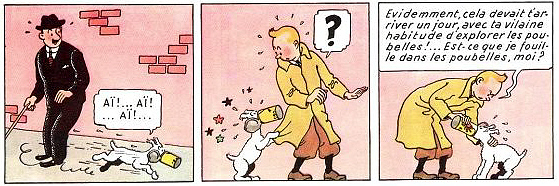 Sample of Tintin